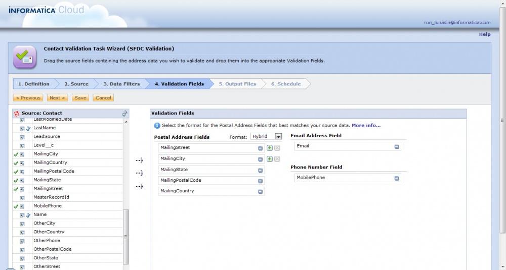 informatica driverlayer search engine
