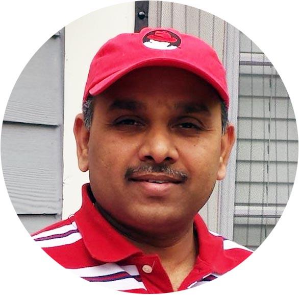 Satya Jayanti, Red Hat